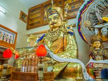 Shrine in Dharamsala Stock Image