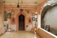 Shrine in disrepair. A roadside shrine in Goa, India Royalty Free Stock Photography