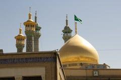 The shrine of Fatima Almasomh Stock Image