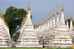 Shrine field in Myanmar Stock Image