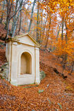 Shrine in a forest Royalty Free Stock Photo
