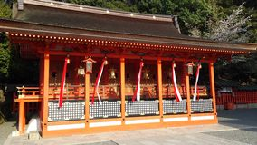 Shrine in Fushimi Inari Royalty Free Stock Photos