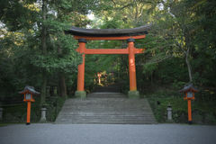 Shrine gate Stock Photo