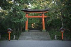 Shrine gate Stock Photo