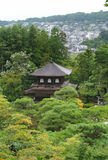 Shrine at Ginkakuji temple Stock Photography