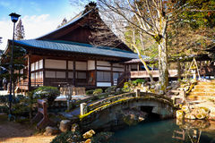 Shrine at Higashiyama Temple Area Royalty Free Stock Image