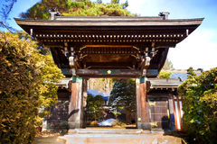Shrine at Higashiyama Temple Area, Hida, Takayama, Japan Stock Photos
