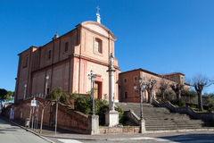 Shrine of the holy crucifix in longiano Stock Image