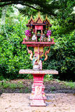Shrine of the household god or spirit house in Thailand Royalty Free Stock Image
