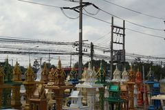 Shrine of the household god Stock Image