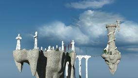 Shrine. Image of shrine in the air Royalty Free Stock Images