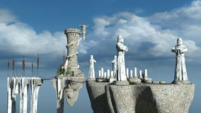 Shrine. Image of shrine in the air Royalty Free Stock Photography