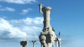 Shrine. Image of shrine in the air Stock Image