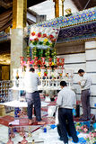 The shrine of Imam Abbas Stock Photos
