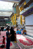The shrine of Imam Abbas Stock Image