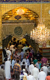 The shrine of Imam Abbas Stock Images