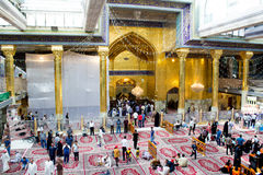 The shrine of Imam Abbas Royalty Free Stock Photo