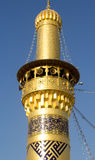 The shrine of Imam Abbas Royalty Free Stock Photo