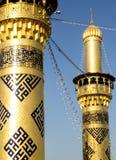 The shrine of Imam Abbas Royalty Free Stock Photography