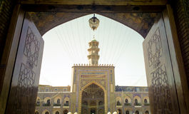 The shrine of Imam Ali al-Rida Royalty Free Stock Photo