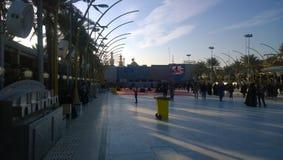 The shrine of Imam Hussein Stock Photo