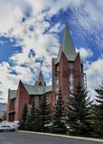 Shrine Of The Immaculate Conception Of The Blessed Virgin Mary, Chelyabinsk royalty free stock image