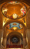 Shrine Immaculate Conception Dome Washington DC Royalty Free Stock Photography