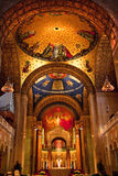 Shrine Immaculate Conception Washington DC. Shrine of Immaculate Conception Cathedral Basilica Inside Arches stock photography
