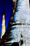 Shrine- Inle Lake, Burma (Myanmar). Shrine at the Phaung Daw U Kyaung shrine near Lake Inle (Shan State)- Burma (Myanmar Royalty Free Stock Photos
