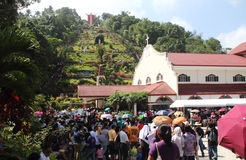 The Shrine of Kamay ni Jesus Royalty Free Stock Photo