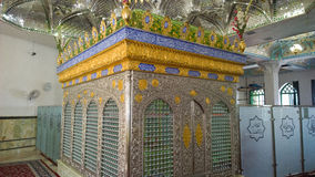 The shrine of Khwaja Abasalt. It is the shrine of Khawaja Abasalt one of the owners of Imam Ali ibn Musa Alreza, its  in the form of a ribbed dome surrounded by Stock Photography