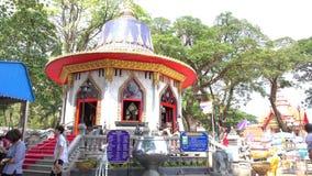 Shrine of King Taksin stock footage