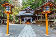 Shrine on the mountain Royalty Free Stock Photo