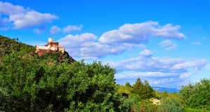 Shrine of Mare de Deu de la Roca, in Mont-roig del Camp, Spain Stock Images