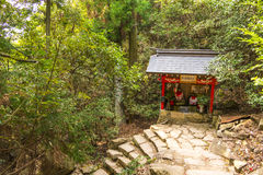 Shrine in Miyajima island, Japan Royalty Free Stock Image