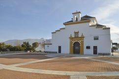 Shrine in the mountain range of Granada Stock Photography