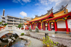 Shrine in Nagasaki. Cofucius Shrine in Nagasaki, Japan royalty free stock image