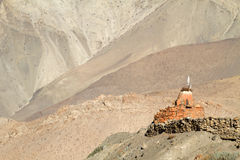 Shrine in Nepal mountain Stock Photography