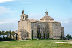 Shrine of Our Lady of La Llana, the Almenar of Soria Royalty Free Stock Image