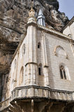 Shrine of Our Lady of Rocamadour, France Stock Image