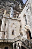 Shrine of Our Lady of Rocamadour, France Stock Photos