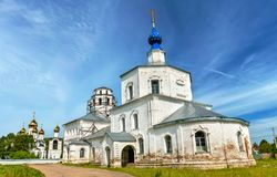 Shrine of Our Lady of Smolensk in Pereslavl-Zalessky - Yaroslavl Oblast, Russia. Shrine of Our Lady of Smolensk in Pereslavl-Zalessky - Yaroslavl Oblast, the Royalty Free Stock Photos