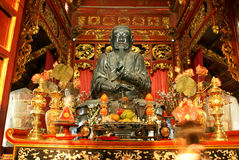 Shrine in pagoda Stock Image