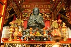 Shrine in pagoda Stock Image