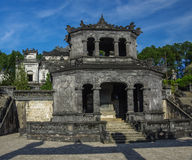 Shrine pavilion in Imperial Khai Dinh Tomb in Hue Stock Images