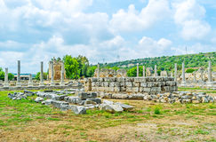 Shrine in Perge Royalty Free Stock Photo