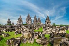 Prambanan Hindu temple. Central Java, Indonesia. Stock Photos