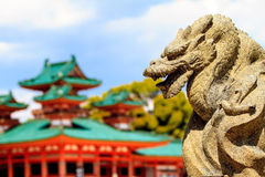 The Shrine is ranked as a Beppyou Jinja Stock Photography