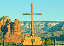 Shrine of the Red Rocks Royalty Free Stock Photo