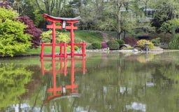 Shrine Relfected Stock Photos